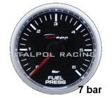 Merač tlaku paliva 0-7bar - elektrický (52 mm)