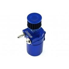 Oil Catch Tank TurboWorks PRO, s filtrom a mierkou, Modrý