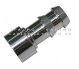 Nátrubok na navarenie 10mm hliníkový (pre 9,5mm hadicu)