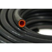 Podtlaková hadica, silikónová, Pretkávaná, 10 mm, Čierna, PRO