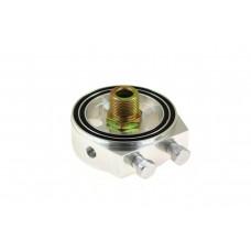 Adaptér na pripojenie snímačov tlaku a teploty oleja, závit M20x1,5, Strieborný