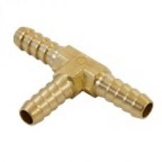 Spojka hadicová, mosadzná, T-kus, 4mm