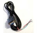 Kábel komunikačný sériový RS232 pre RJ VEMS, zaliaty