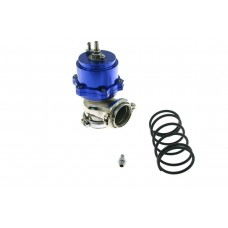 Wastegate ventil, Externý, nastaviteľný, 44mm, 1bar, V-band, modrý
